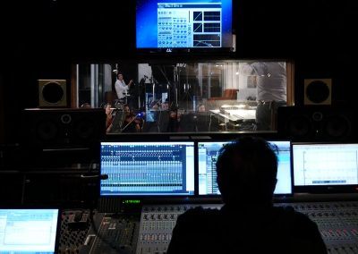 Studio enregistrement Alhambra - console