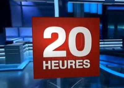 GÉNÉRIQUE DU JT DE 20H DE FRANCE 2