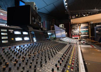 Console régie Studios Alhambra 2