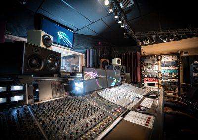 Console régie Studios Alhambra 3