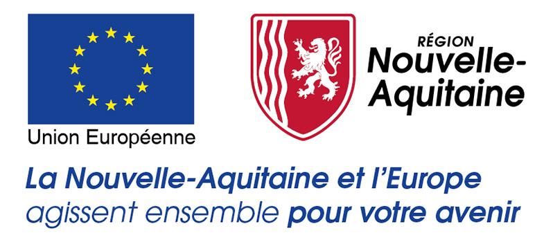 Logo - Europe - Région Nouvelle-Aquitaine
